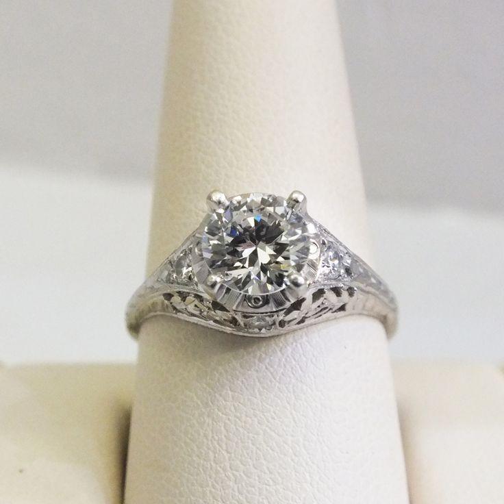 Estate Platinum Ring