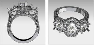 Sketching of Custom Jewelry Idea