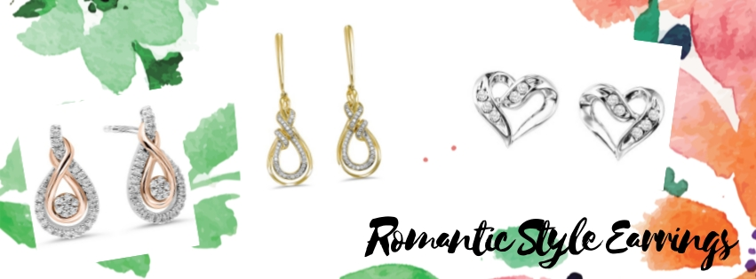 Romantic Style Earrings