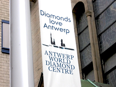 The Eliis Jewelers Diamond love Antwerp