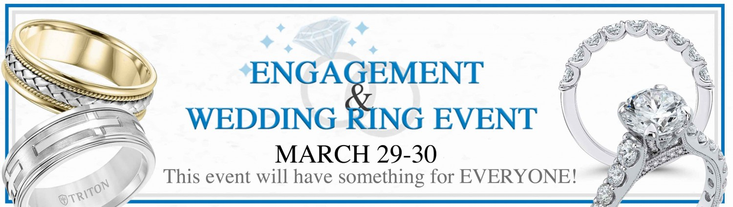 Engagement and Wedding Band Event