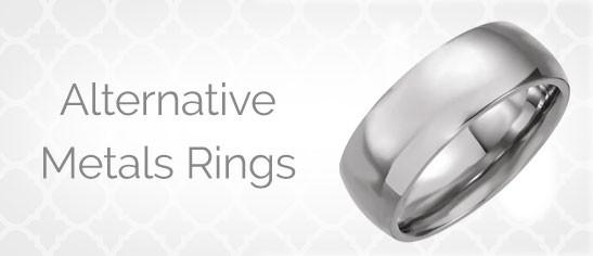 Alternative Metals Rings