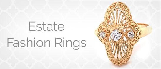 Estate Fashion Rings