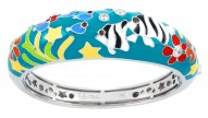 Angelfish Teal Bangle