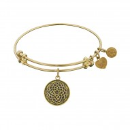 Angelica Lotus Flower Bangle