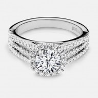 Naledi Marjorie Engagement Semi Mount Ring