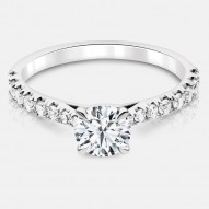 Naledi Adelaide Engagement Semi Mount Ring