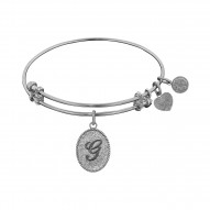 "Angelica Initial ""G"" Bangle"