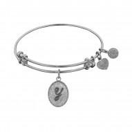 """Angelica Initial """"Y"""" Bangle"""
