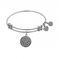 Angelica Celtic Round Knot Bangle