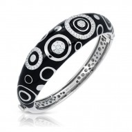 Galaxy Black Bangle