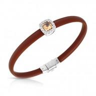 Diana Brown/Champagne Bracelet