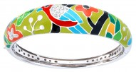 Perroquet Green Bangle