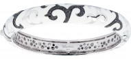 Royale White Bangle