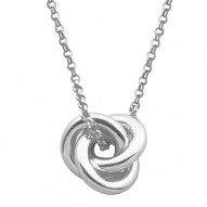N0445 Trefoil Necklace