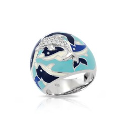Delfino Blue Ring
