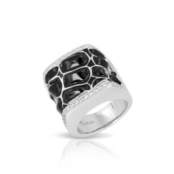 Coccodrillo Black Ring