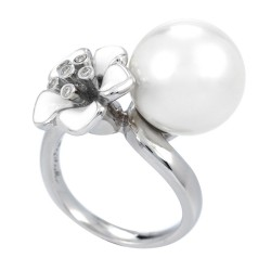 Snowdrop White Ring