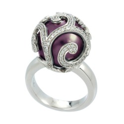 BeautyBound Merlot Ring