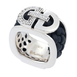 Milan Black Ring
