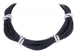 Forza Black Necklace