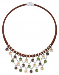 Lattice Fall Necklace