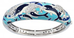 Delfino Blue Bangle