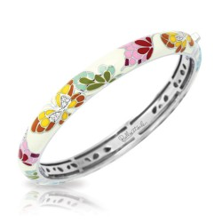 Butterfly Kisses Collection In Stack/Whiteena/Cz/Ss Bangle