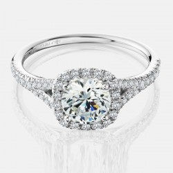Naledi Adriana Engagement Semi Mount Ring