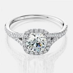 Naledi Adriana Engagement Semi Mount Ring