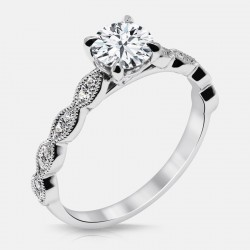 Naledi Noa Engagement Semi Mount Ring