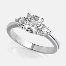 Naledi Linda Engagement Semi Mount Ring