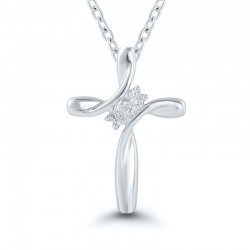 Sterlin Silver Cross Pendant