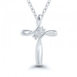 Sterlin Silver Cross Pendant