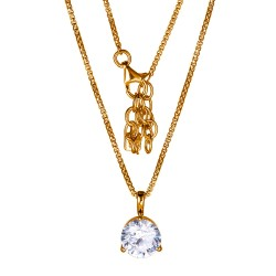N10024RZ17 Martini necklace