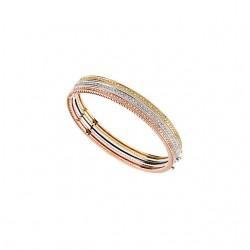 14kt Yellow 1/3 CTW Diamond Bangle Bracelet