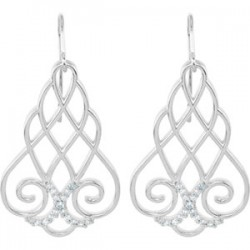 Filigree Scroll Earrings