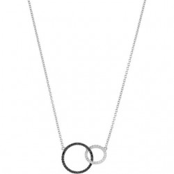 "14K White 1/3 CTW Diamond Circle 18"" Necklace"