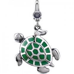 Enamel Turtle Charm