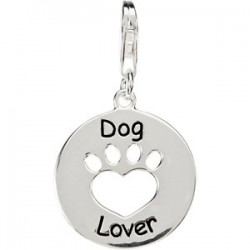 Heart U Back™ Dog Lover Paw Charm