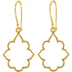 14K Yellow Decorative Earrings
