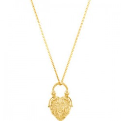 Vintage-Inspired Heart Pendant or Necklace