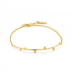 Shimmer Solid Bar Stud Bracelet