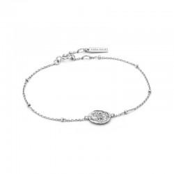 Emblem Beaded Bracelet