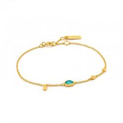 Turquoise Discs Bracelet