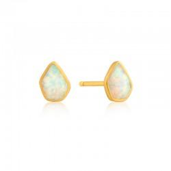 Opal Colour Stud Earrings