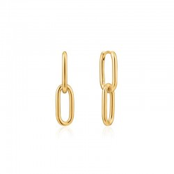 Cable Link Earrings
