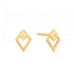 Spike Diamond Stud Earrings