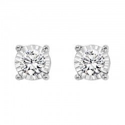 14KW Diamond Studs 1/4 ctw