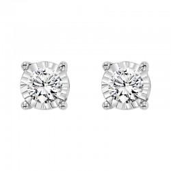 14KW Diamond Studs 1/3 ctw